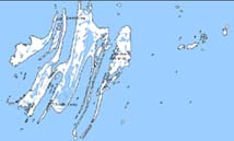 Map of the Belcher Islands